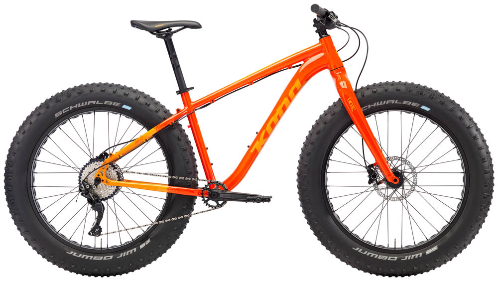 Rent a Kona WO Fat bike