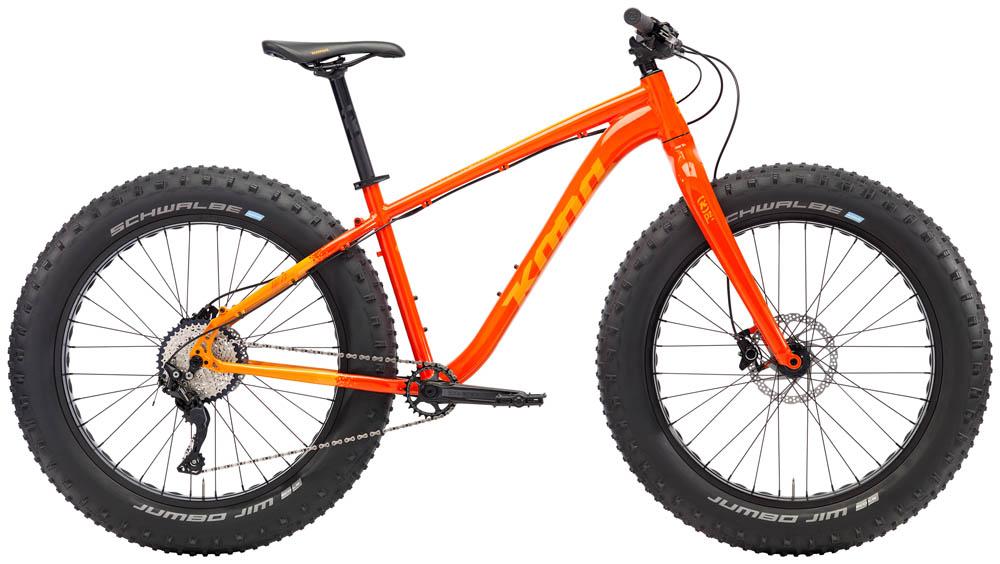 Rent a Kona WO Fat bike