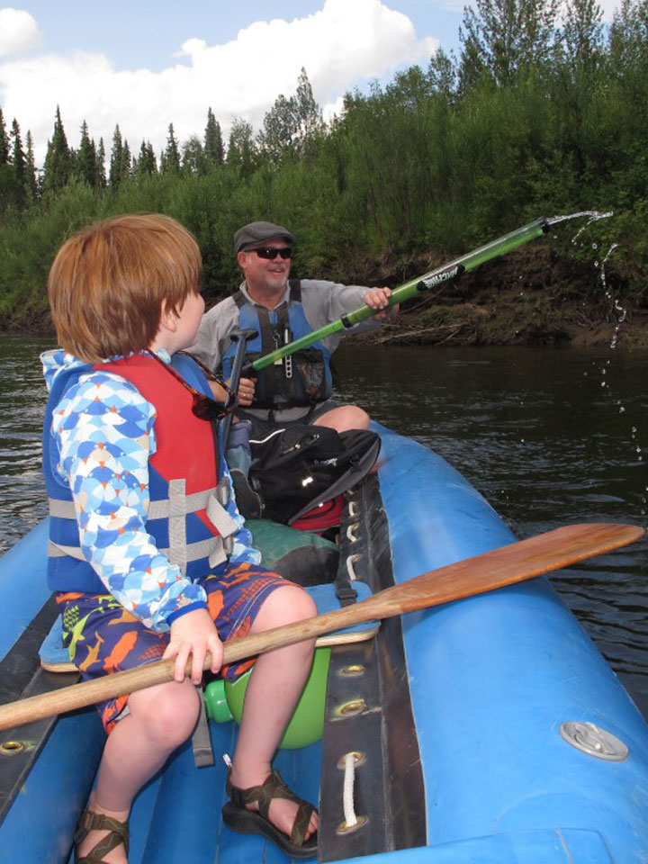Downtown Fairbanks Boat and Bike Tour