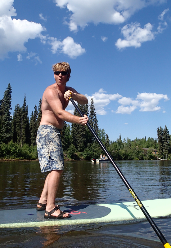 CanoeAlaska SUP Rentals in Fairbanks