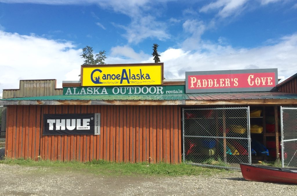 CanoeAlaska is closed for the Winter